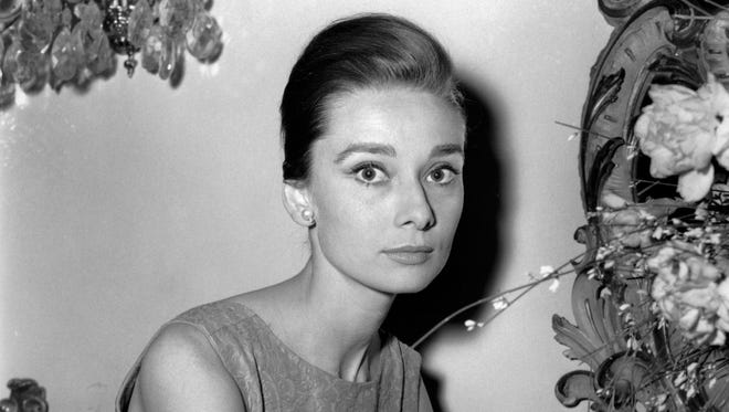 """Actress Audrey Hepburn at a hotel in Rome on Jan. 8, 1960. """"Yes, she was an international star, but she was Mrs. Dotti to me,"""" says Luca Dotti, a Rome-based graphic designer who is the son of Hepburn and her second husband, Andrea Dotti."""
