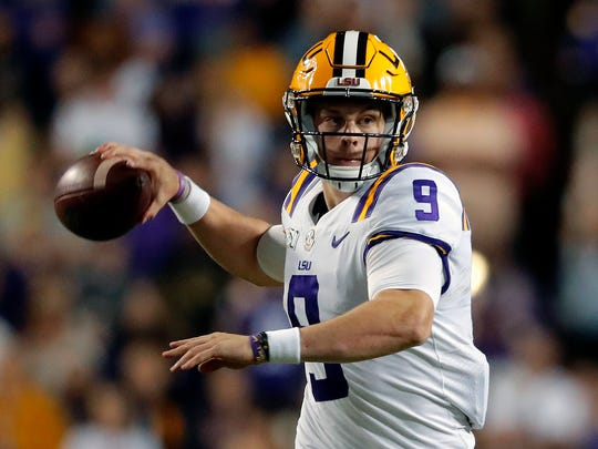 Joe Burrow is a Heisman Trophy candidate for LSU.