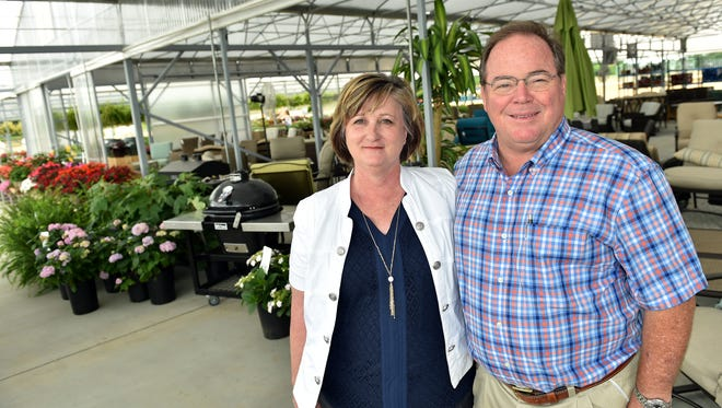 Callaway's Yard & Garden co-owners Brint Callaway and wife Annette recently opened a Gluckstadt location.