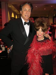 Jeffrey and Sandi Kallenberg at Las Vegas Night.