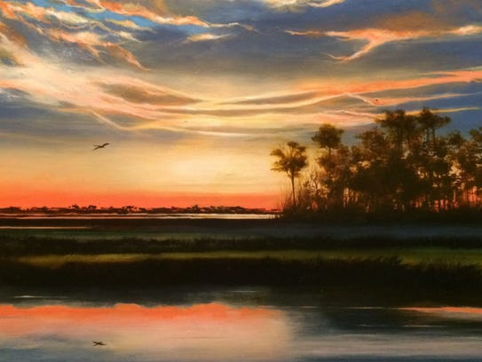 Afterglow on the Glades by Dana Groff