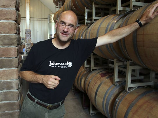 Chris Stamp is president and winemaker for Lakewood