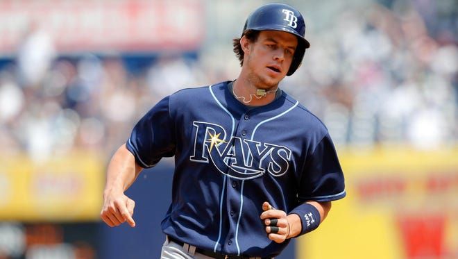 The Rays' Wil Myers is batting .312 and has nine home runs, including an attention-grabbing grand slam in his sixth big-league game.
