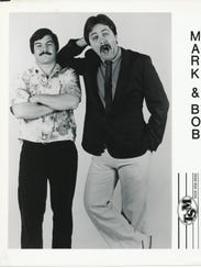 Mark Kline and Bob Batch were two of the comedians