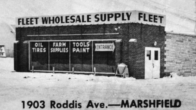 The first Fleet Wholesale Supply store in Marshfield later became Mills Fleet Farm.