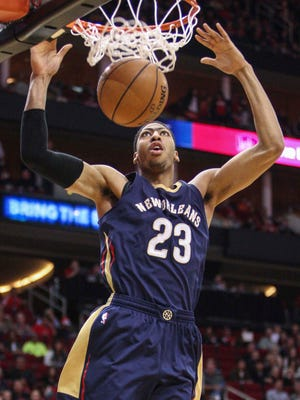 Pelicans power forward Anthony Davis has as much upside as any young player in the NBA.