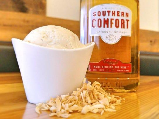 Browndog Creamery & Dessert Bar's Southern Comfort-infused