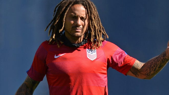 Jones has scored four goals in his career with the U.S. national team.