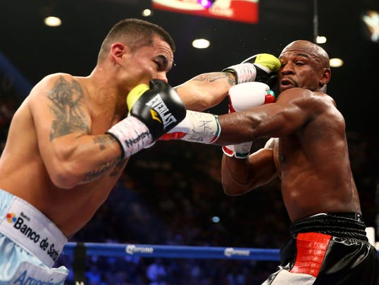 Floyd Mayweather Jr. vs Marcos Maidana