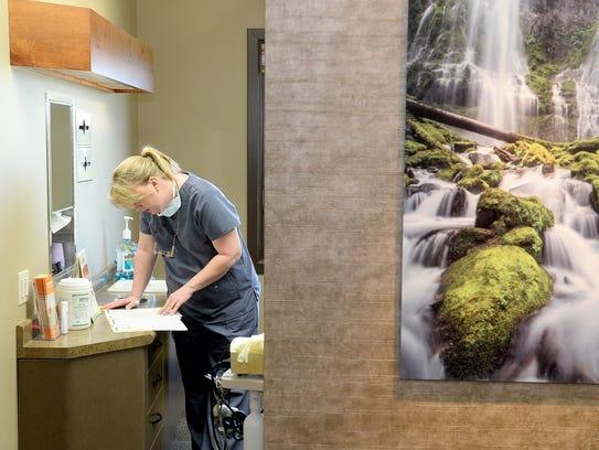 The new Elkin Family Dentistry building at 2500 Bobcat