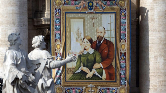 New saints Louis and Zelie Martin raised St. Therese of Lisieux, also known as the Little Flower.