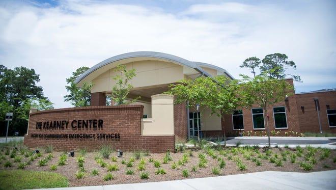 The Kearney Center, exterior.
