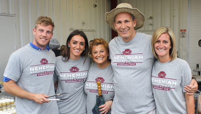 Employees at Nehemiah Manufacturing Co. enjoy a collaborative work culture focused on giving back.