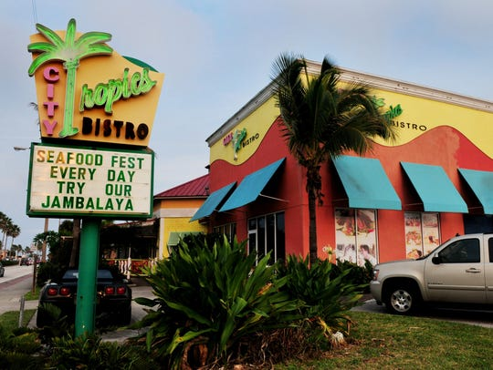 City Tropics Bistro, a part of the Indialantic landscape for nearly 15 years, closed in November 2016.