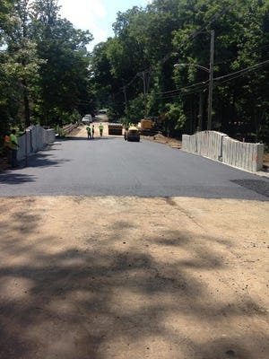 The new Mendham Road Bridge opened on Tuesday afternoon, July 12, in Morris Township.
