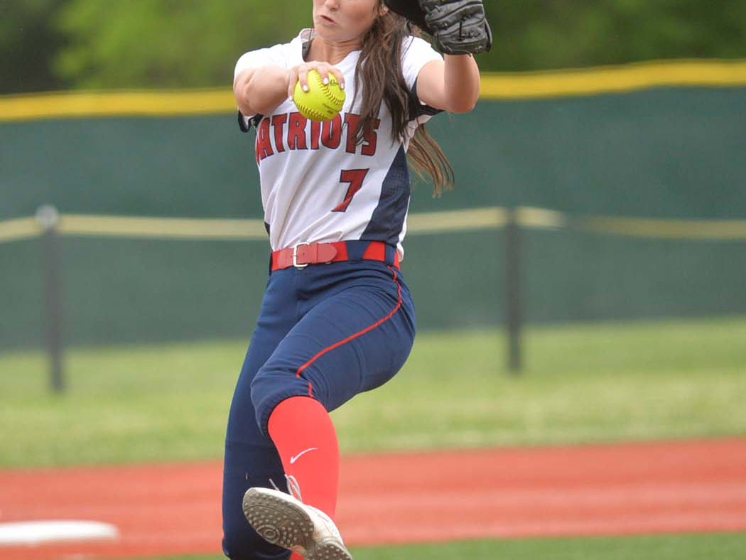 Hannah Vidallier hopes to pitch North Vermilion back into the state tournament in Sulphur.
