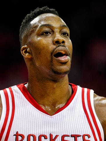 Could Houston Rockets center Dwight Howard be on the