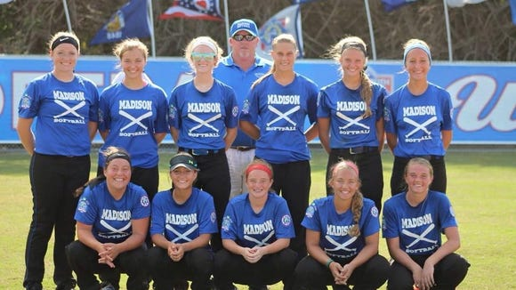 The Madison softball team is 4-0 at the Babe Ruth 16U Softball World Series in Jensen Beach, Fla.