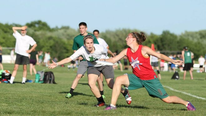 Ultimate Frisbee combines elements of soccer, basketball and football into a fun and athletic experience that athletes of all levels will enjoy.