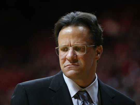Hoosiers head coach Tom Crean has come under fire for his team's performance on and off the court in 2014.