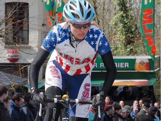 Competing internationally for USA Cycling, Sinead Miller