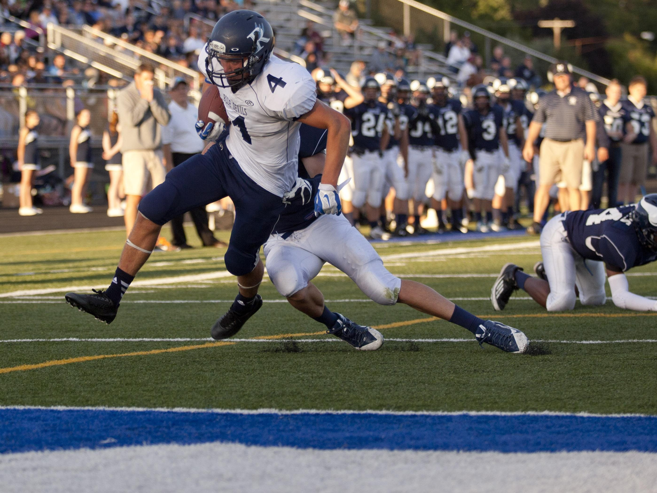 Richmond's Devin Skatzka was a First-Team All-State selection in football.