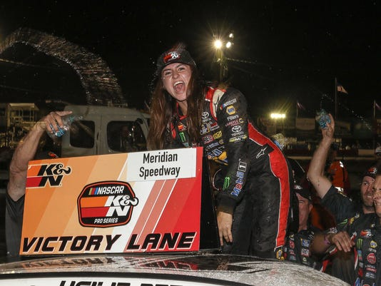 9 things to know about rising NASCAR star Hailie Deegan