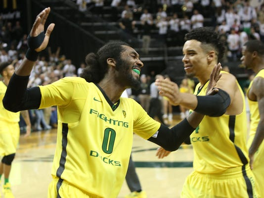 Baylor Oregon Basketball