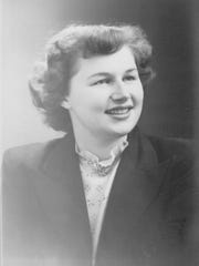 Mabel Rhodes Williams graduated from Lexington High School in 1949.