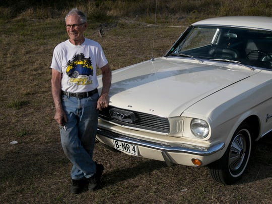 David Beyer, of Fort Myers, is a Mustang collector
