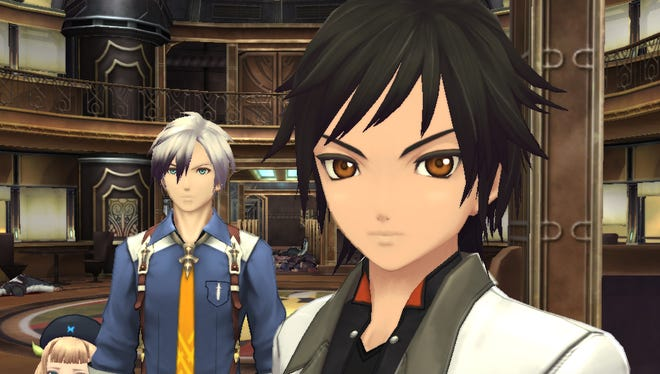 """New and familiar characters join forces in popular Japanese role-playing game """"Tales of Xillia 2"""" for the PlayStation 3."""