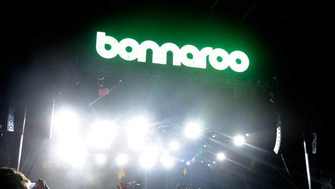 A file photo from the Bonnaroo Music and Arts Festival in 2015.