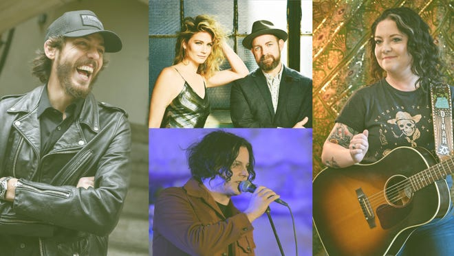 Chris Janson, Dan + Shay, Ashley McBryde and Jack White