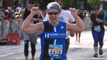 Local woman makes marathon effort to aid African tribe she's never met