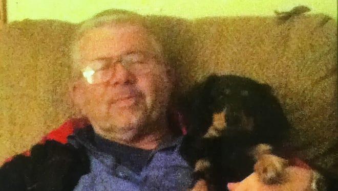 Robert Aubrey, 75.