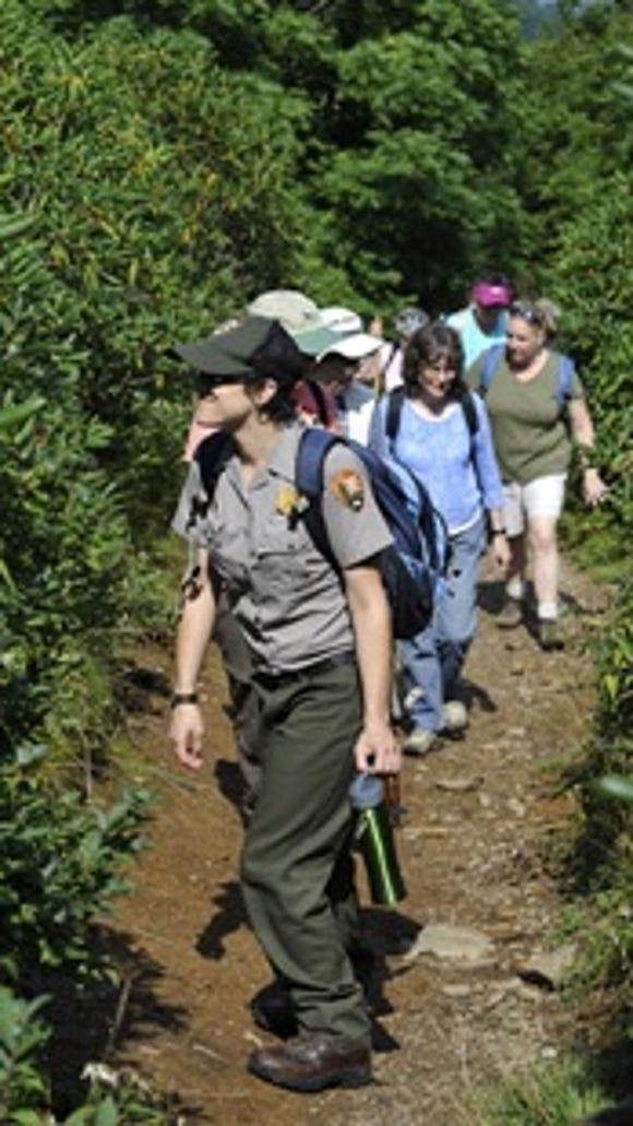 Blue Ridge Parkway ranger guided hikes start Thursday,