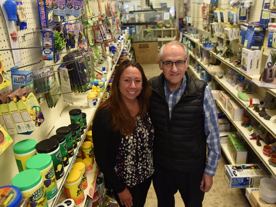 Robert Kazimir and his daughter Karen  are seen on March 22, 2018, in their Hackensack pet shop, which is closing after 68 years in business.