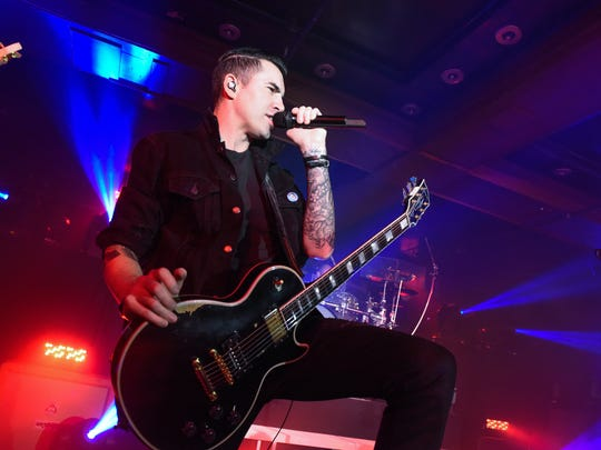 Lead singer and guitarist Tyler Connolly and the rest of Theory of a Deadman are enjoying life on the road with their latest tour.