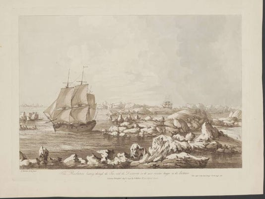 How Capt. Cook's intricate 1778 records reveal global warming today in Arctic