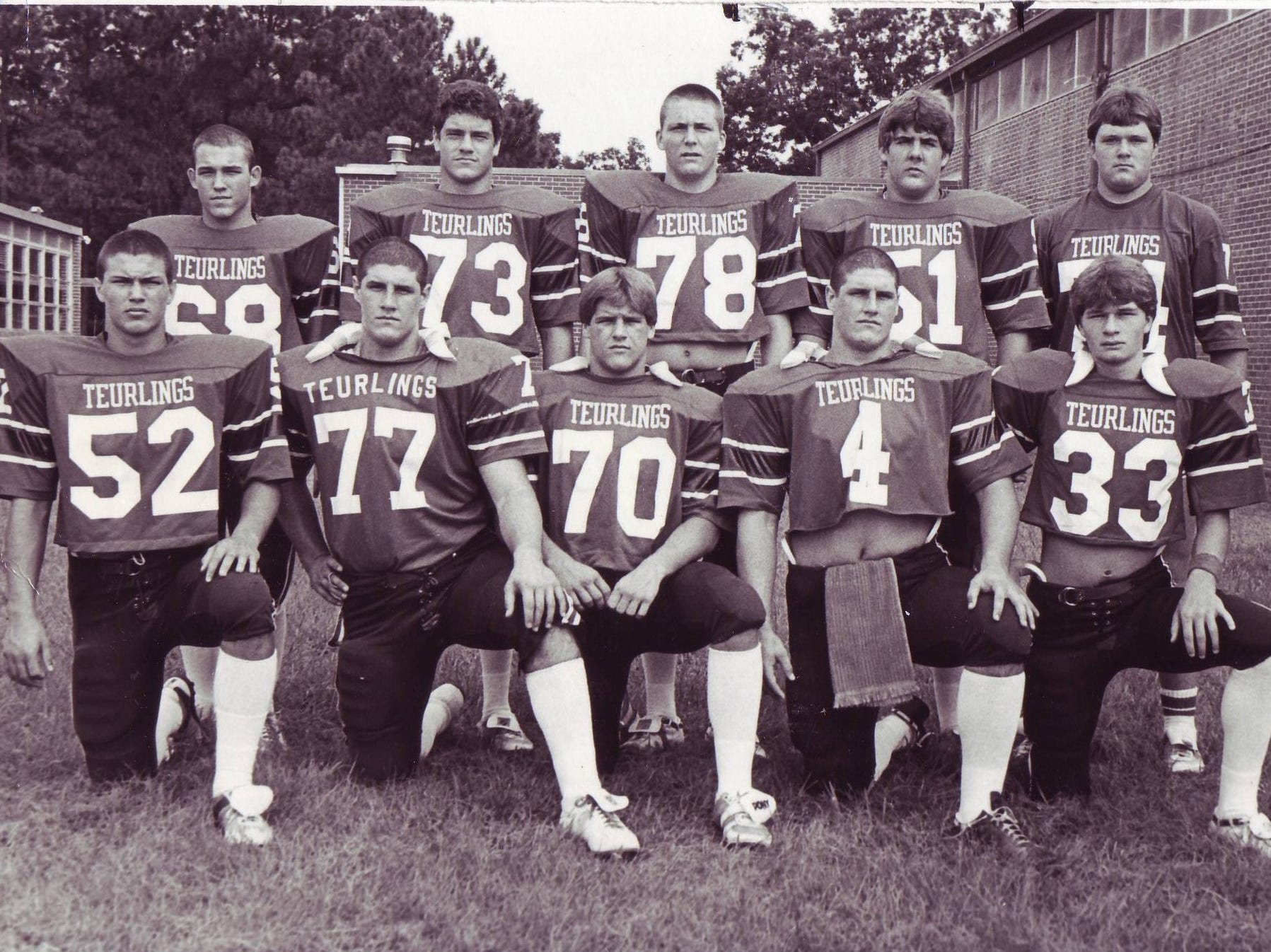 Members of the Teurlings Catholic Rebels during those glory years of the early 1980s.