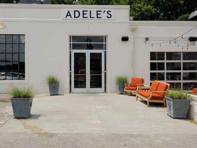 Jonathan Waxman's new restaurant, Adele's, in the Gulch in Nashville.