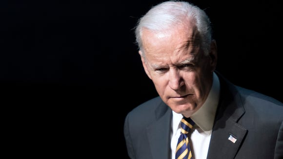 Former Vice President Joe Biden, speaks during the