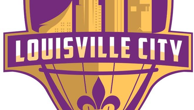 The new Louisville City Football Club's logo.