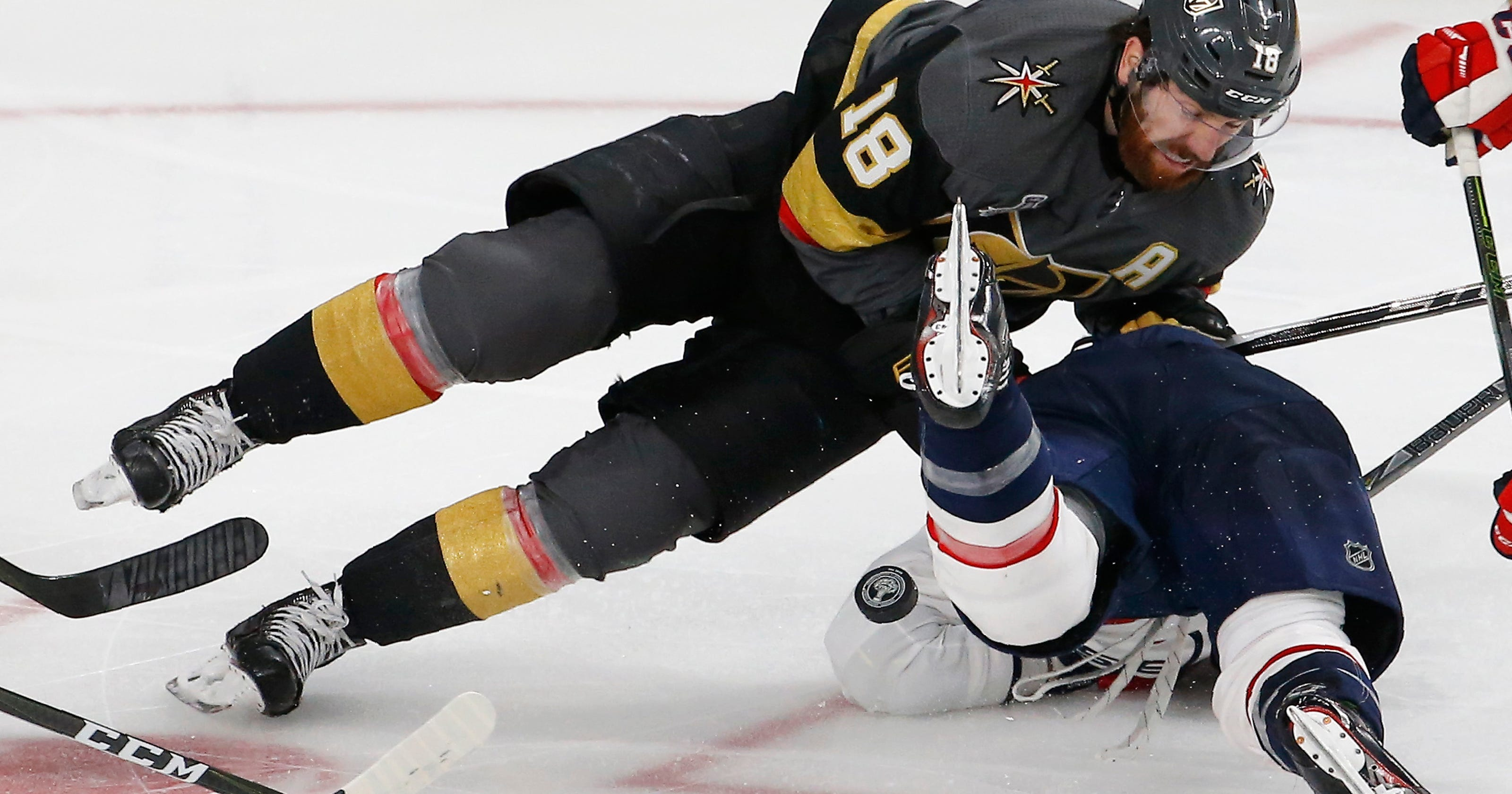 The Latest  Vegas has not lost consecutive playoff games yet 2c258a2702d4