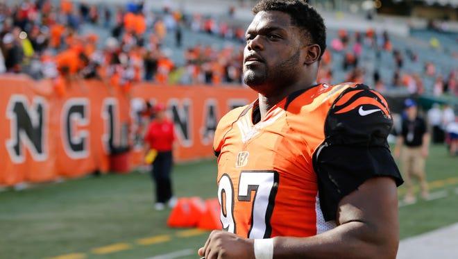 Cincinnati Bengals defensive tackle Geno Atkins.