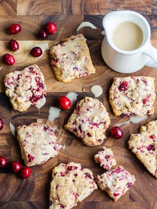 cranberry scones. credit thekitchn.com