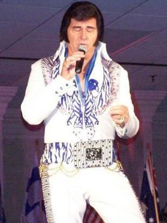Paul as Elvis