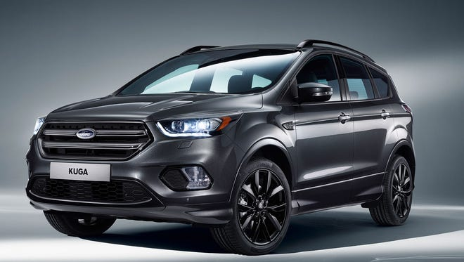 Ford revealed an updated version of its popular Ford Kuga, a sibling to the Ford Escape, in Barcelona on Monday.