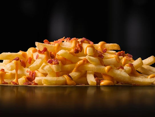 The Cheese & Bacon Loaded Fries from Australia.