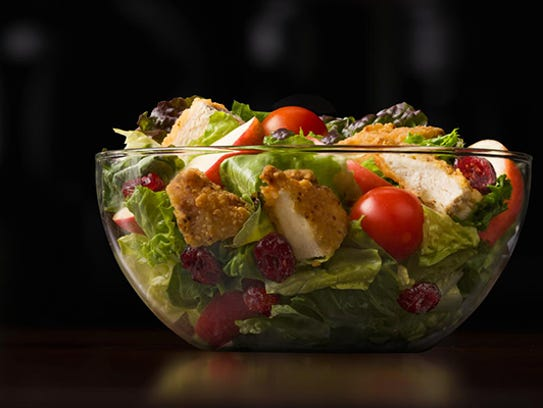 The Manhattan Salad from France.